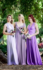 Adult Purple Long Straps Charmeuse A Line Bridesmadi Dress with Draping BDNZ1595