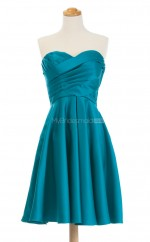 New Arrive Jade A Line Sweetheart Satin Bridesmaid Dresses (BSD240)