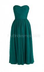 Custom Color Chiffon Short Bridesmaid Dresses BSD253