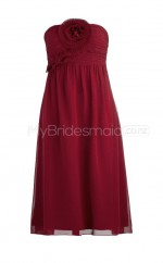 Custom Color Short Chiffon Bridesmaid Dress BSD257