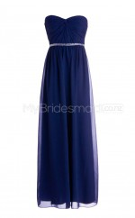 Custom Color Long Sweetheart Bridesmaid Dresses BSD271