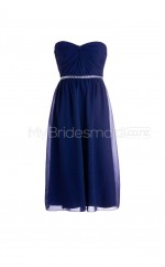 Custom Color Short Chiffon Bridesmaid Dress BSD272