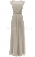Custom Color A Line Long Bridesmaid Dress BSD289