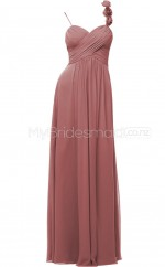 Custom Color Long Straps Bridesmaid Dresses BSD311