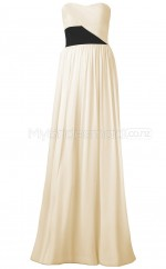 Custom Color Chiffon Long Bridesmaid Dresses BSD313