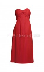 Custom Color Short Chiffon Bridesmaid Dress BSD322
