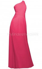 Custom Color Long Chiffon Bridesmaid Dress BSD342