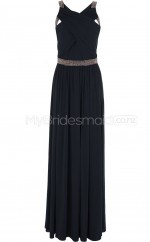 Custom Color Long Chiffon Bridesmaid Dress BSD372