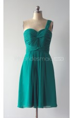 Custom Color Chiffon Short Bridesmaid Dresses BSD378
