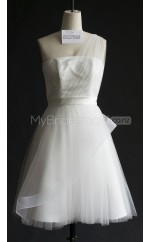 Custom Color Tulle Short Bridesmaid Dresses BSD398