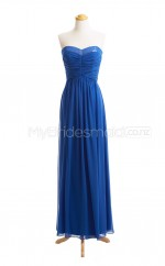 Custom Color A Line Long Bridesmaid Dress BSD404