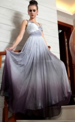 V-neck Long Formal Gown for Evening(GZNZ30868)