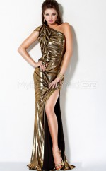 Sheath One Shoulder Sequined One Shoulder Ball Dresses (NZJT06543)