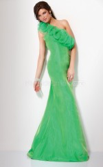 Mermaid Halter Organza Long Ball Dresses (NZJT06559)