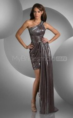 Sheath One Shoulder Sequined One Shoulder Ball Dresses (NZJT06585)