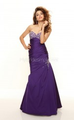 Taffeta Mermaid Sweetheart Sweep Train Regency Ball Dresses (NZJT06784)