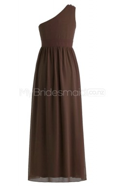 Custom Color A Line Long Bridesmaid Dress BSD264