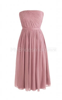 Custom Color Chiffon Short Bridesmaid Dresses BSD278