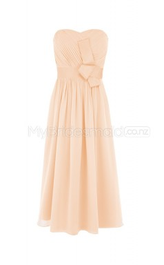 Custom Color Short Chiffon Bridesmaid Dress BSD302