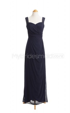 Custom Color Chiffon Long Bridesmaid Dresses BSD403
