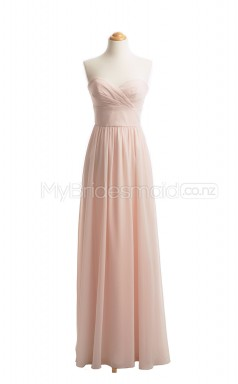 Custom Color Long Sweetheart Bridesmaid Dresses BSD416