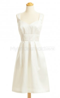 Custom Color A Line Short Bridesmaid Dress BSD429