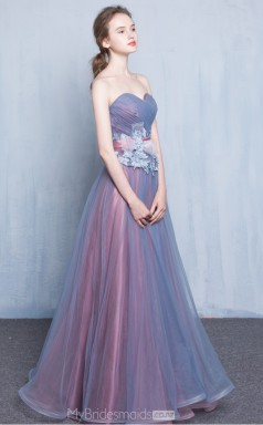Adult Tulle Princess Long Sweetheart Ball Gowns NZTB06058