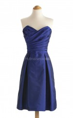 Vogue Royal Blue A Line Sweetheart Taffeta Bridesmaid Dresses (BSD154)