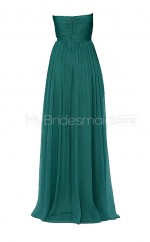 Custom Color A Line Long Bridesmaid Dress BSD254