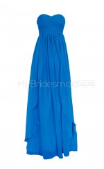 Custom Color Long Sweetheart Bridesmaid Dresses BSD266