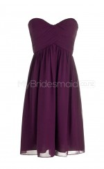 Custom Color A Line Short Bridesmaid Dress BSD269