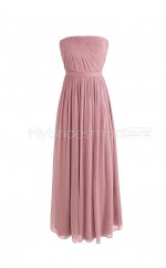 Custom Color A Line Long Bridesmaid Dress BSD279