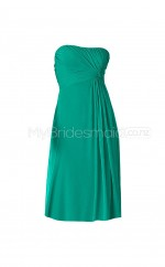 Custom Color Column/Sheath Short Bridesmaid Dress BSD324