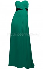 Custom Color Long Chiffon Bridesmaid Dress BSD327