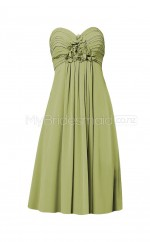 Custom Color Chiffon Short Bridesmaid Dresses BSD328