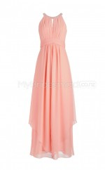 Custom Color Chiffon Long Bridesmaid Dresses BSD353