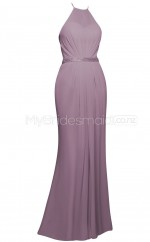 Custom Color Chiffon Long Bridesmaid Dresses BSD358