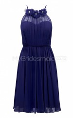 Custom Color Chiffon Short Bridesmaid Dresses BSD393