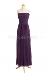 Custom Color Chiffon Long Bridesmaid Dresses BSD408