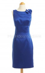 Custom Color Column/Sheath Short Bridesmaid Dress BSD434