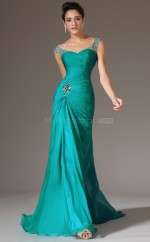 Adult Jade Chiffon Long Bridesmaid Dress NZJT061345