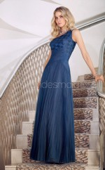 A-line One Shoulder Tulle One Shoulder Ball Dresses (NZJT06632)