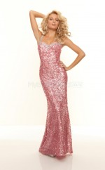 Mermaid Halter Sequined Long Ball Dresses (NZJT06786)