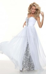 A-line Sweetheart Sequined Long Ball Dresses (NZJT06793)