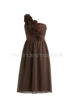 Custom Color Chiffon Short Bridesmaid Dresses BSD263