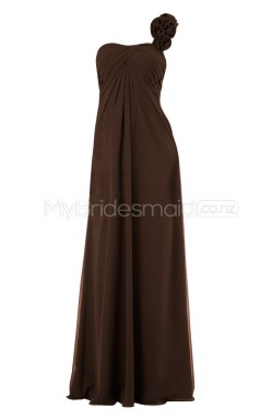 Custom Color A Line Long Bridesmaid Dress BSD309