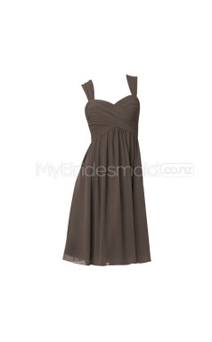 Custom Color A Line Short Bridesmaid Dress BSD314