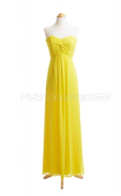Custom Color Long Chiffon Bridesmaid Dress BSD402