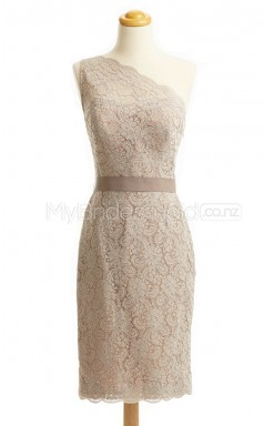 Custom Color Lace Short Bridesmaid Dresses BSD438